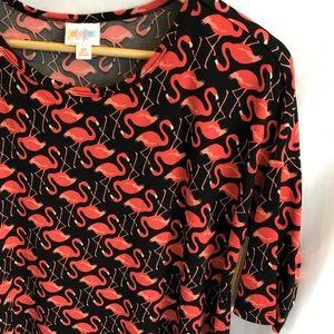 9c18841c2a2b90 LuLaRoe. Lularoe irma top pink flamingo new ...